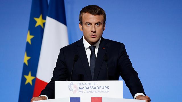 French President Emmanuel Macron (Photo: AP)