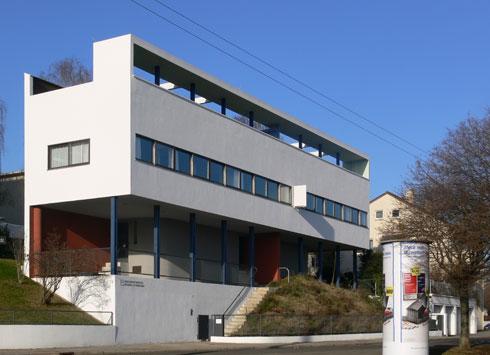 בית וייסנהוף. תוכנן כבית מגורים דו-משפחתי (צילום: Andreas Praefcke, cc)
