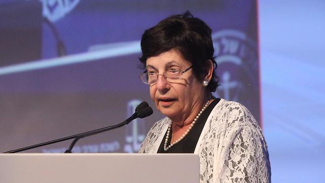 נשיאת בית המשפט העליון מרים נאור  (צילום: יריב כץ) (צילום: יריב כץ)