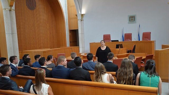 Touring the Supreme Court (Photo: Shmuel Cohen)