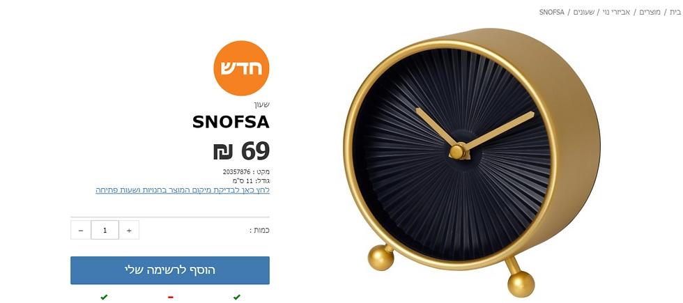 המחיר בישראל: 69 שקל