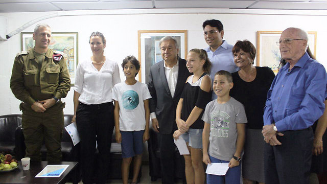 Visit to Kibbutz Nahal Oz on the Gaza border