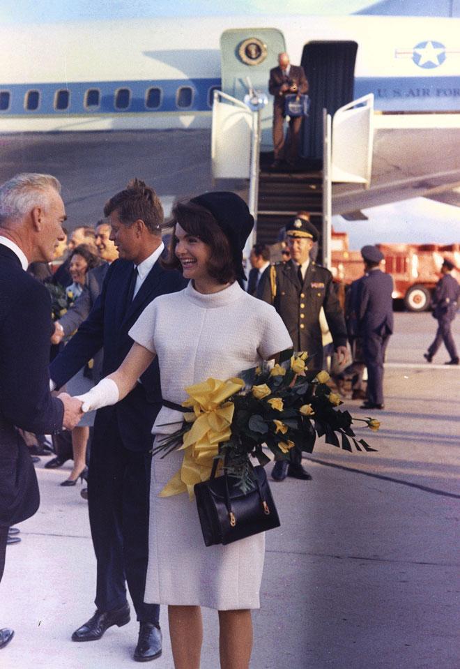 מופת של סטייל. ג'קי וג'ון פ' קנדי (צילום: Gettyimages)