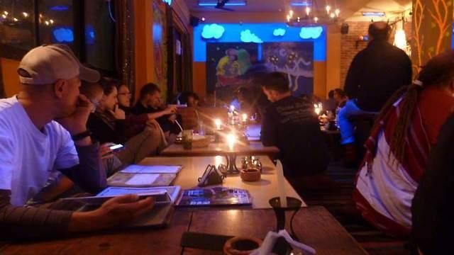מסעדת Or2K עם מגוון המאכלים (oded becker)