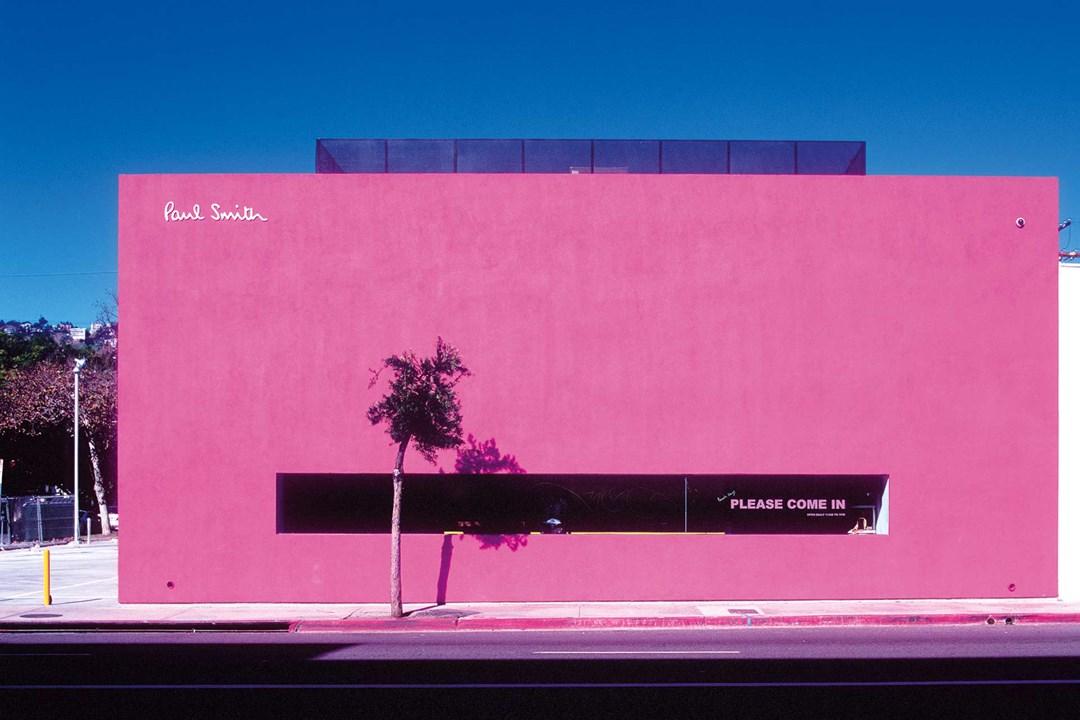 חנות של המעצב פול סמית בשכונת מלרוז פלייס, לוס אנג'לס