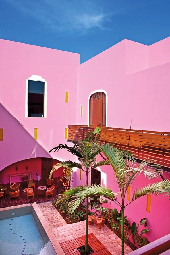 מתחם קייט במרידה, מקסיקו