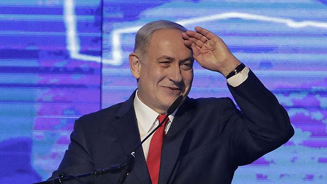 Netanyahu (Photo: Shaul Golan)