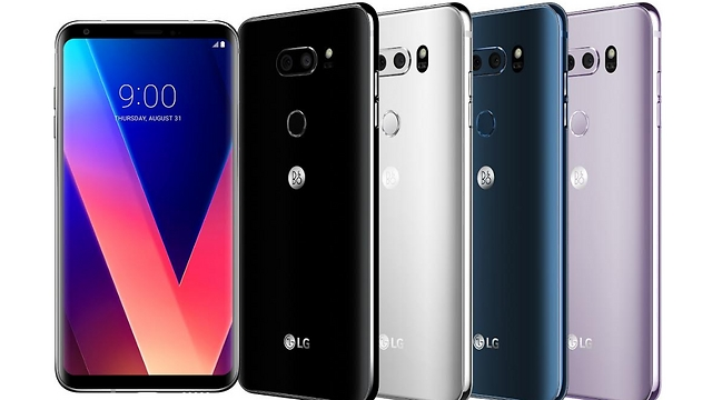 """LG V30 (צילום: יח""""צ) (צילום: יח"""