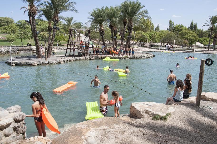 """האגם המשפחתי (צילום: יח""""צ)"""