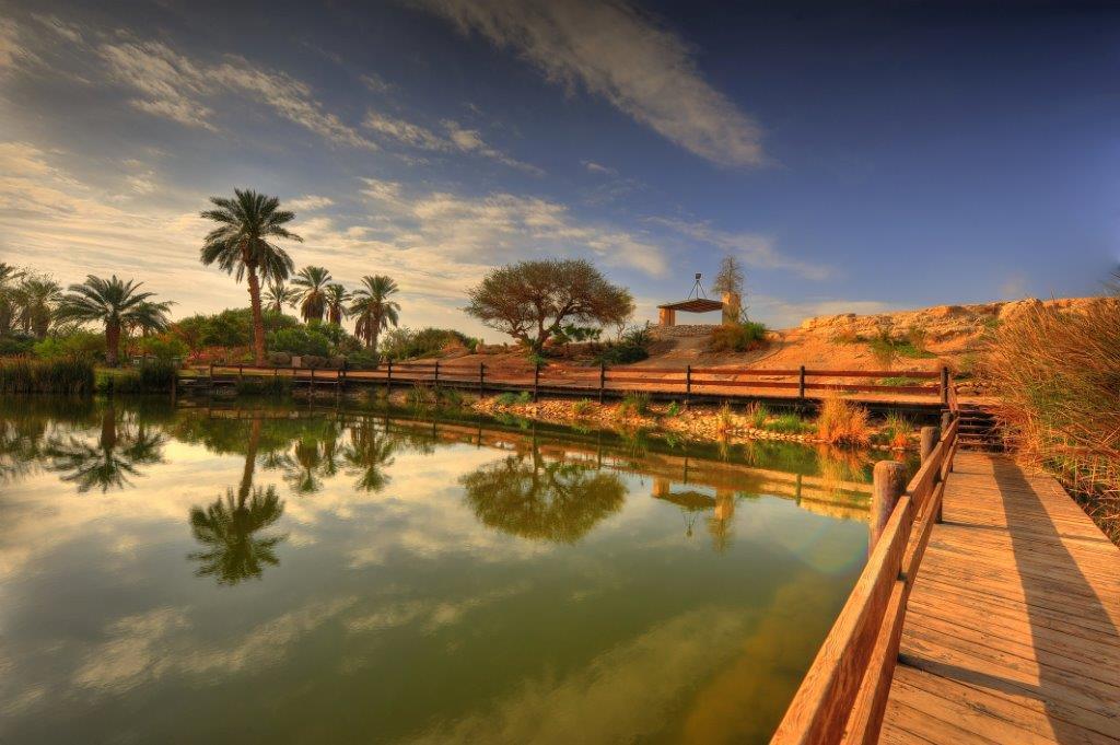 אגם ספיר בערבה (צילום: גלעד לבני)
