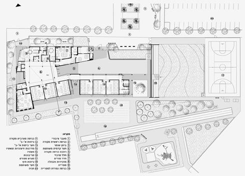 התלמידים למדו לקרוא את התוכנית והוזמנו לעצב חדרים לפי רצונם  (תוכנית: אדר' מרינה סמבליאן, באה אדריכלים)