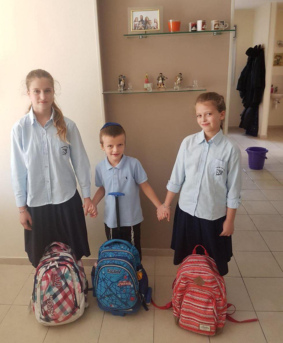 """ליבי, מוישי ודבורה אנדר מתחילים שנה בכפר חב""""ד"""