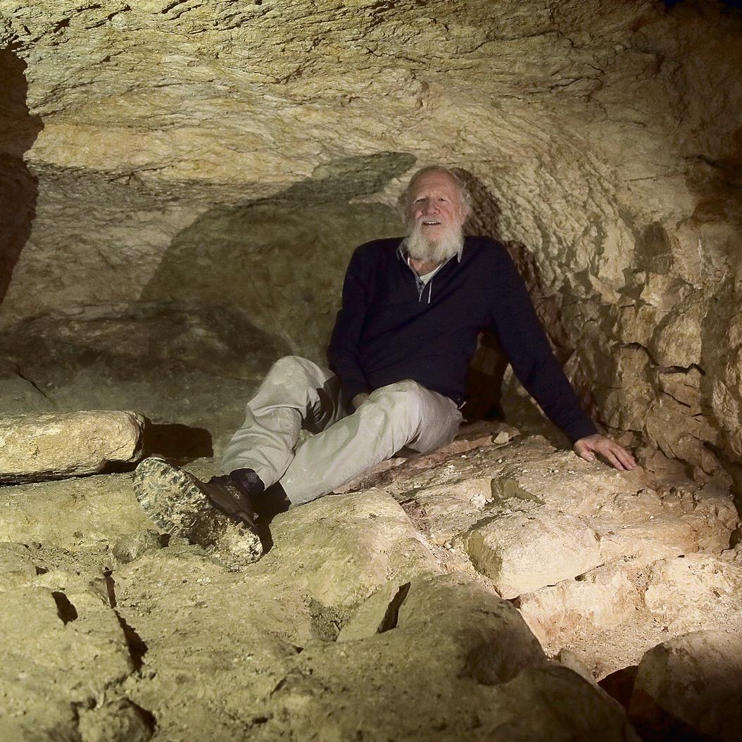 """עציון במערת בית הבד. """"זו הייתה החובה הבסיסית שלנו, ואני מוכן לשלם את המחיר"""""""