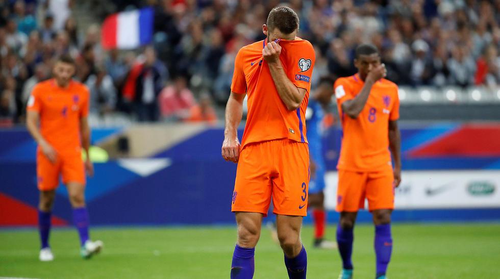 תמונה מייצגת של נבחרת הולנד (צילום: רויטרס)