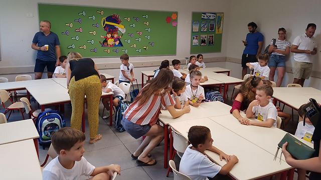 """בי""""ס היסודי אלחריזי בתל אביב (צילום: רן רימון)"""