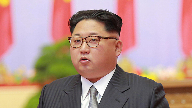 שליט צפון קוריאה, קים ג'ונג און. אפילו בעלת הברית סין מצליפה בו (צילום: רויטרס)