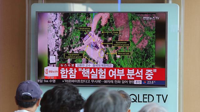 בסיאול עוקבים בדריכות אחר התקדמות תוכנית הגרעין (צילום: AP)