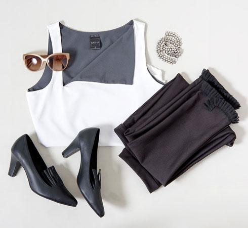 לולו בלרינה + קאשה. מכירה משותפת למותג הנעליים ומותג האופנה (צילום: איה וינד)