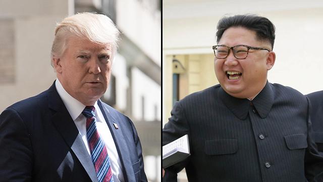 קים ג'ונג און ודונלד טראמפ. זה עלול להיגמר במלחמה (צילום: EPA, MCT)