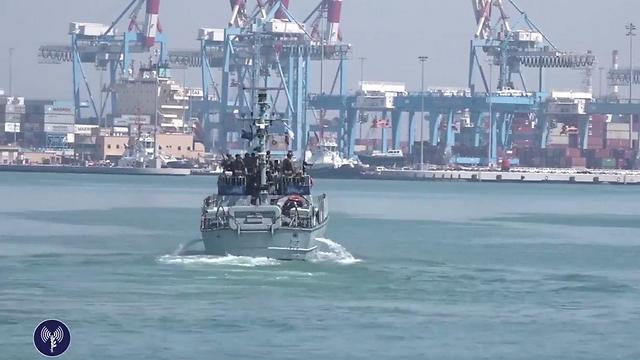 Israeli Navy gearing up for the exercise (Photo: IDF) (Photo: IDF Spokesperson's Unit)
