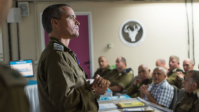 Commander of IDF Northern Command, Major General Yoel Strick (Photo: IDF)