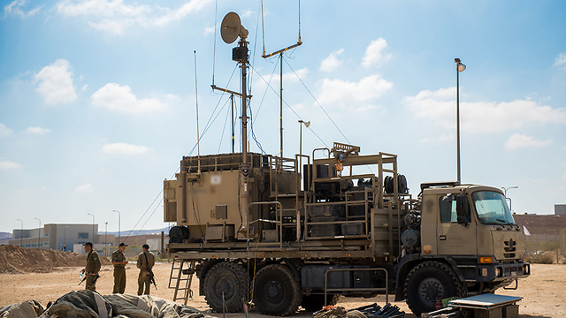 Air Defense forces take positions ahead of the drill (Photo: IDF)