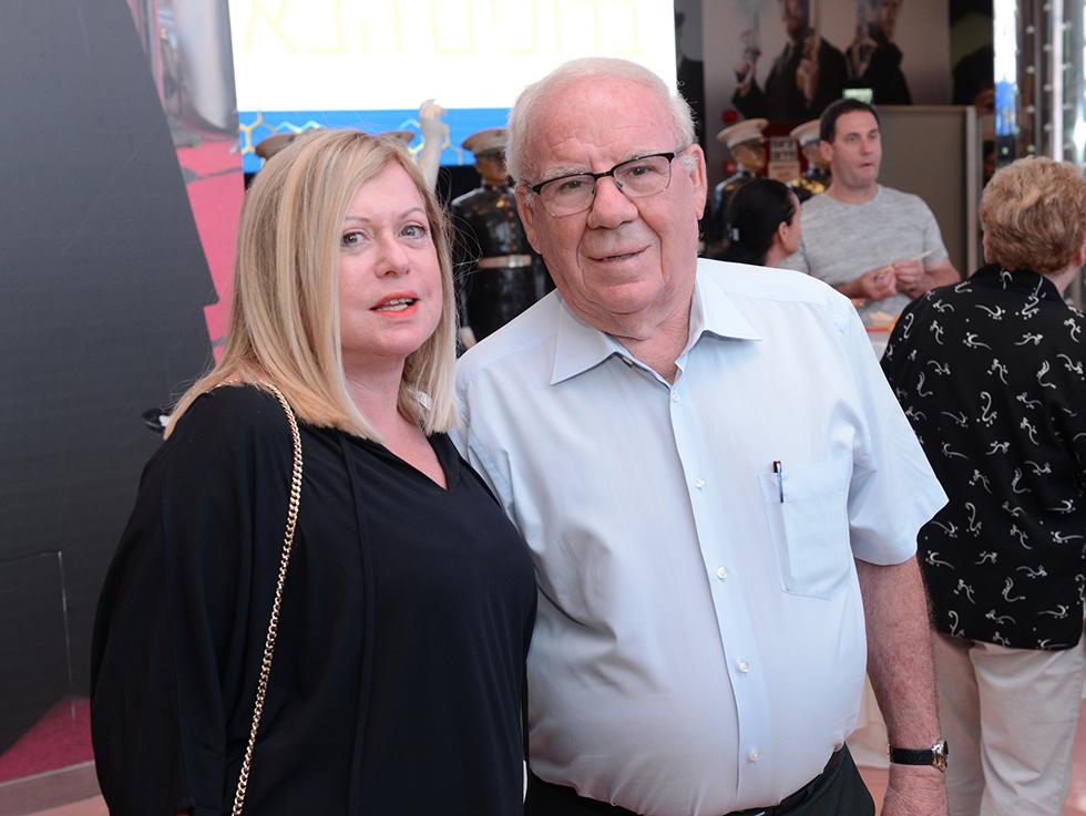 יוסי דהן וזוגתו נירית (צילום: אוהד הרכס ואיתי בלסון מכון ויצמן למדע) (צילום: אוהד הרכס ואיתי בלסון מכון ויצמן למדע)