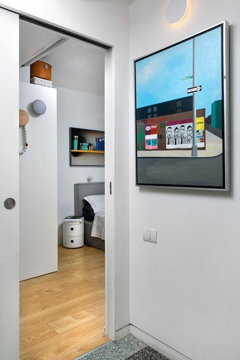 הכניסה לחדר ההורים (צילום: שירן כרמל)