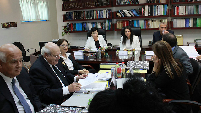 The Judicial Selection Committee (Photo: Justice Ministry Spokesmanship)
