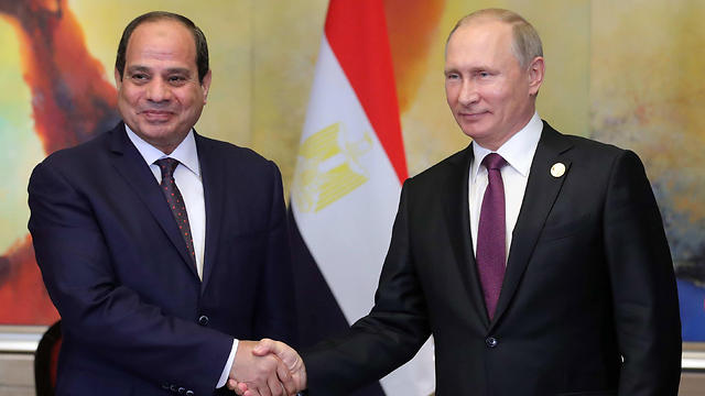 President al-Sisi and President Putin (Photo: MCT)