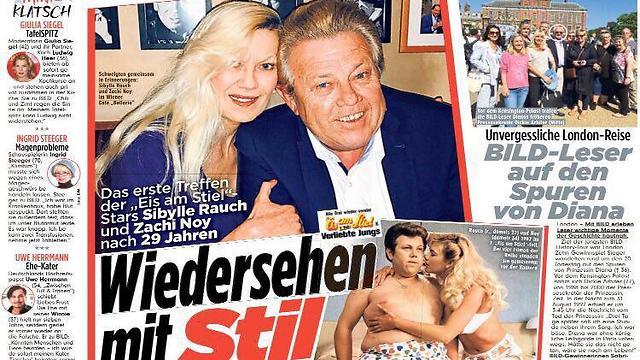 דיווח בגרמניה על הפגישה של ראוך ונוי בשנה שעברה