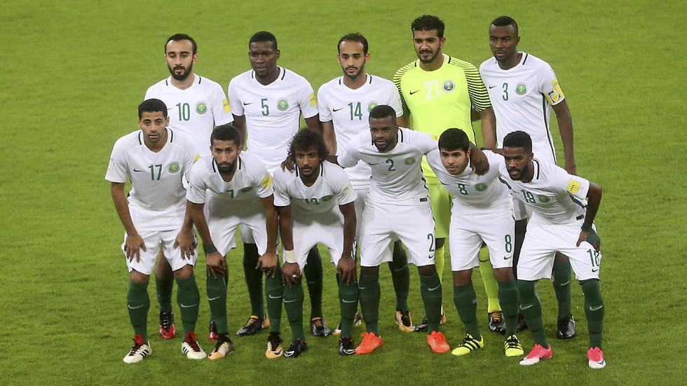 נבחרת ערב הסעודית (צילום: AP) (צילום: AP)