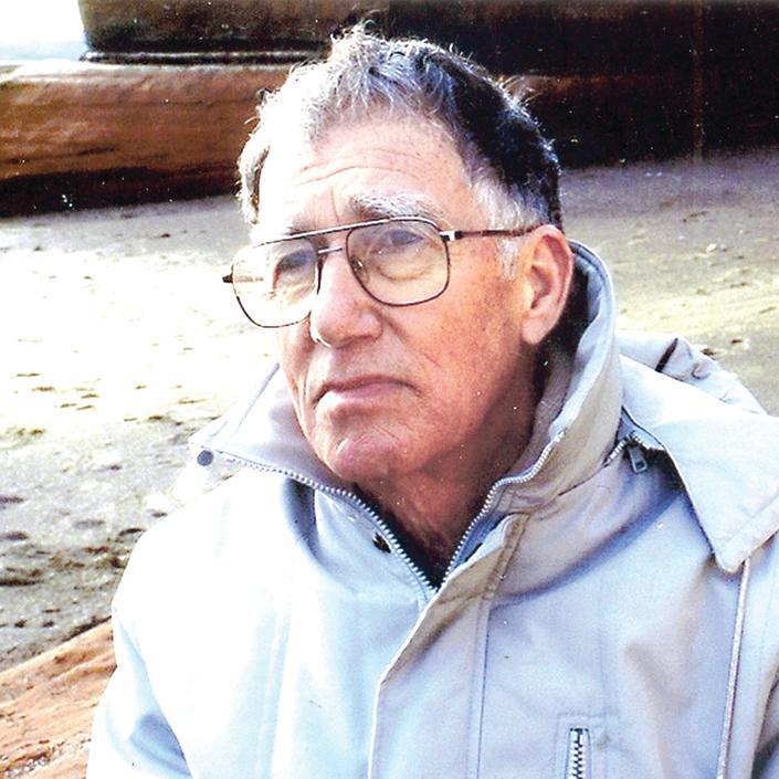 צבי אהרוני בצילום מ־ 1987