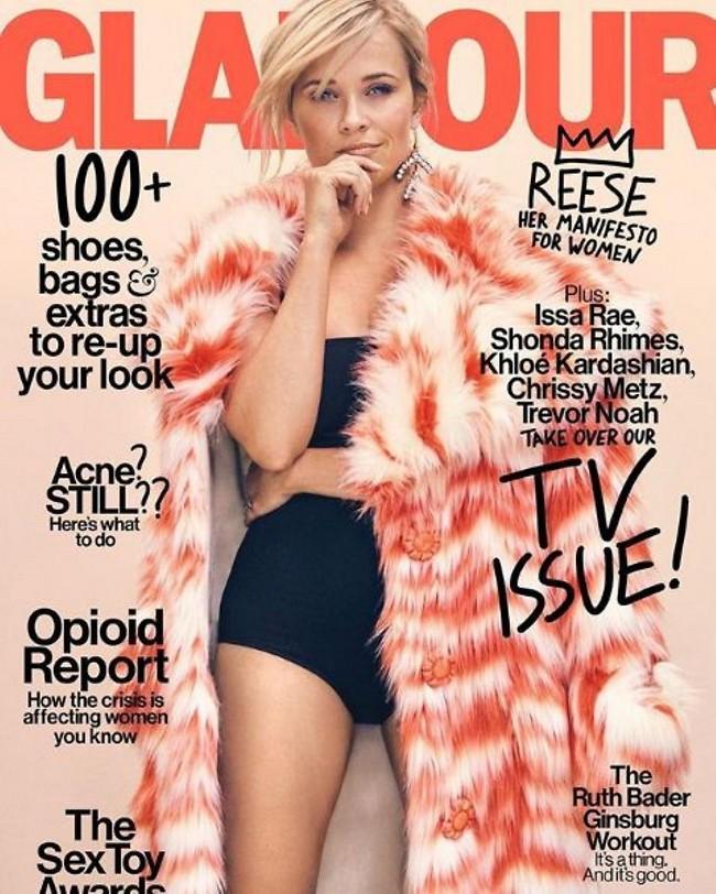 הכי נועז שלך עד כה! ריס וויתרספון (אינסטגרם Glamour Magazine)