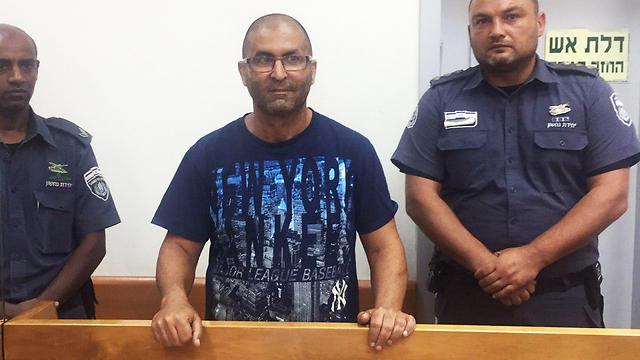 """נתי מור בהארכת מעצרו, היום: """"קיים חשש לשיבוש הליכי חקירה"""" (צילום: רונן כרם)"""