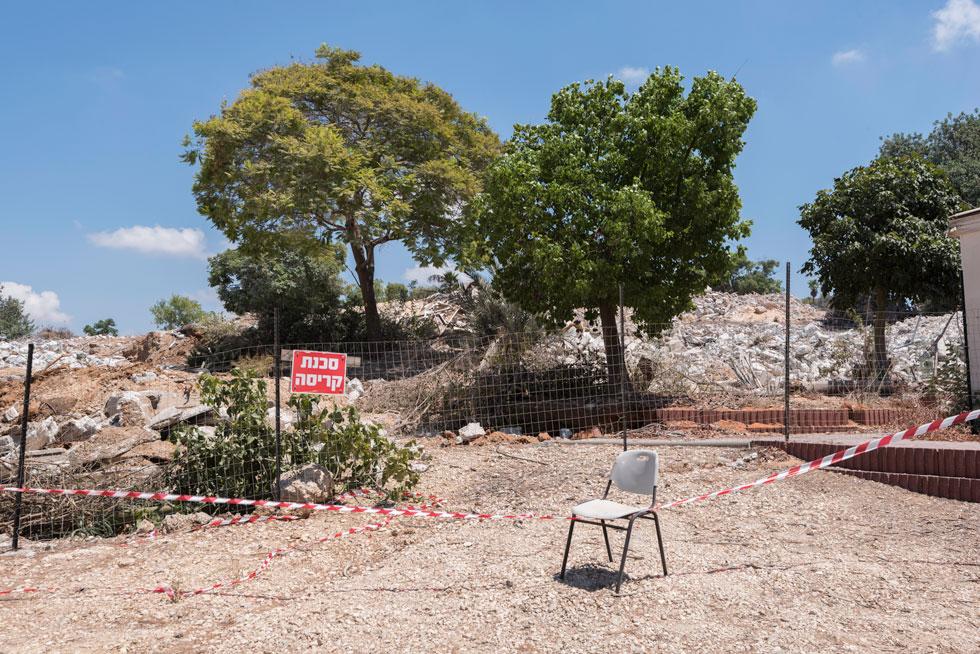 הכיוון ברור: המועצה האזורית עמק חפר מקבלת לפי שעה את ההחלטה של הקיבוץ, ובוחרת לא להתערב (צילום: ליאור גרונדמן)