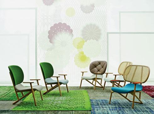 רהיטים של Moroso . נמכרים ברשת טולמנ'ס