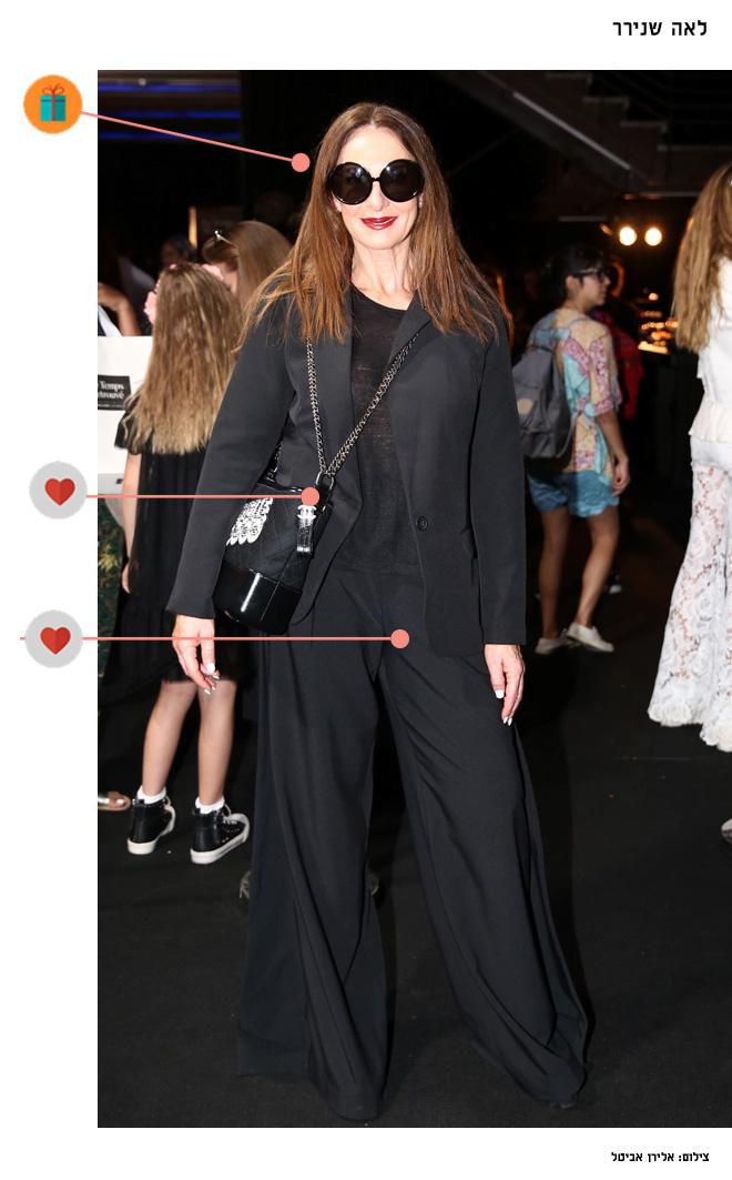 בתצוגת האופנה של רנואר (צילום: אלירן אביטל)
