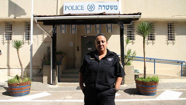 Police Sergeant Neta Shema (Photo: Zohar Shahar)