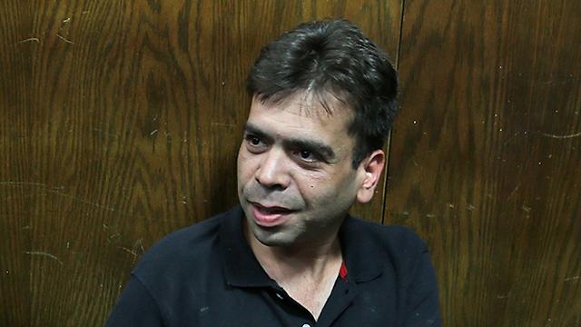 רפי כהן בבית המשפט (צילום: מוטי קמחי) (צילום: מוטי קמחי)