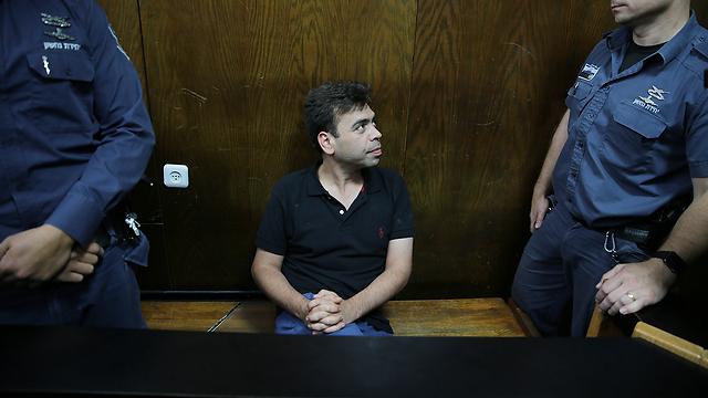 מה יעלה בגורלו של ילד הפלא של הקולינריה הישראלית? השף רפי כהן בבית המשפט (צילום: מוטי קמחי) (צילום: מוטי קמחי)