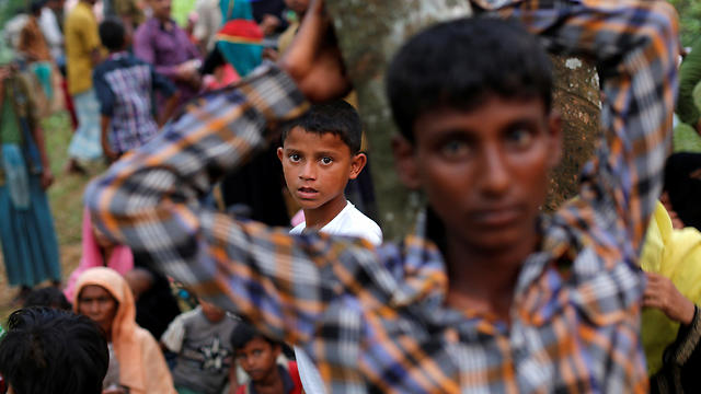 Rohingya refugees (Photo: Reuters) (Photo: Reuters)