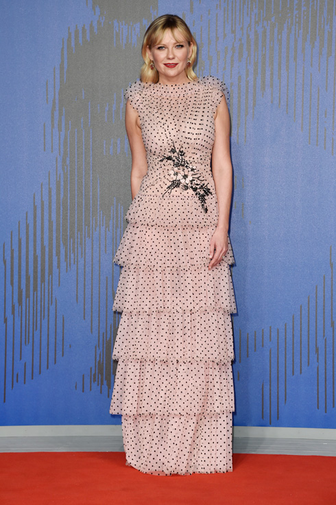 קירסטן דנסט בשמלה של רודארטה (צילום: Gettyimages)