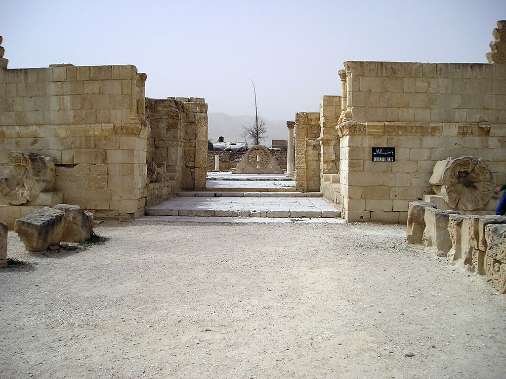 ארמון הישאם ( צילום: A. Sobkowski)