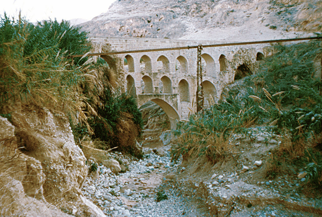 אמת המים ביריחו (צילום: דניאל ונטורה)