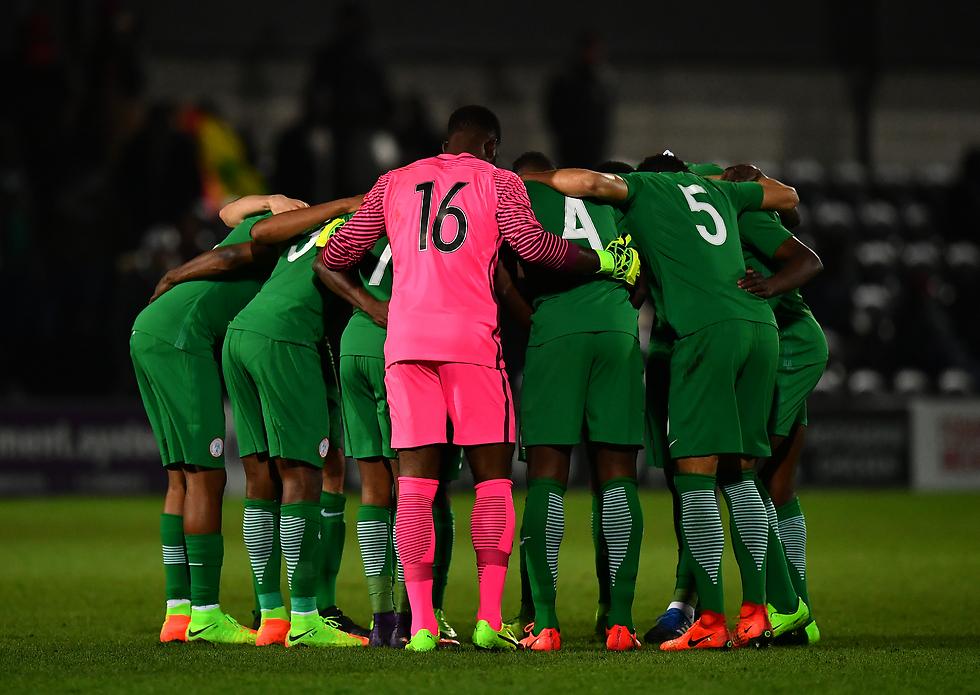 נבחרת ניגריה (צילום: getty images)