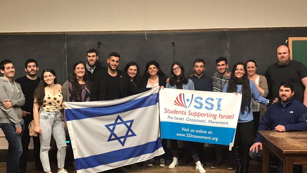Hebrew liberation week. ארגון סטונטים למען ישראל