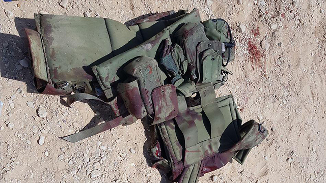 The soldier's vest