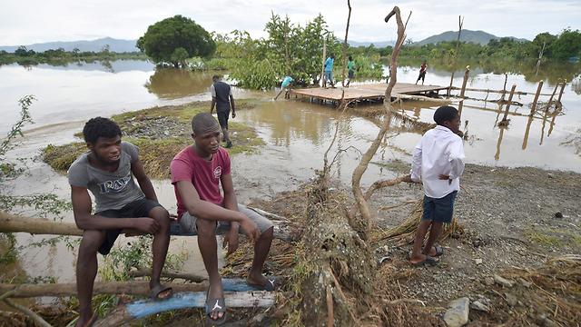 ההרס בהאיטי בעקבות הוריקן אירמה בחודש ספטמבר (צילום: AFP) (צילום: AFP)