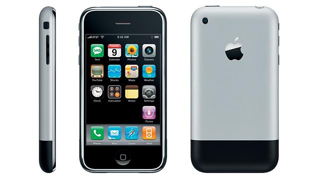 האייפון הראשון: זה שהחל את המהפיכה (צילום: Apple)